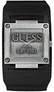 Guess Guess W0418G2 Unisex Black Analog Watch