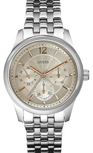 Guess Guess W0474G2 Men's Asset Silver Analog Watch
