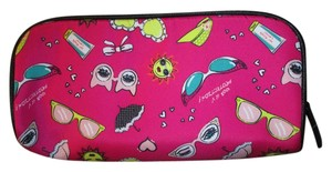Betsey Johnson Brand new Betsy Johnson Large Cosmetic bag, Dark pink