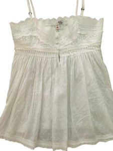 Joie Eyelet Top White