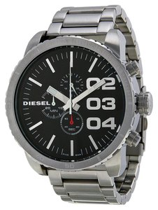 Diesel Diesel DZ4209 Men's Silver Analog Watch With black Dial