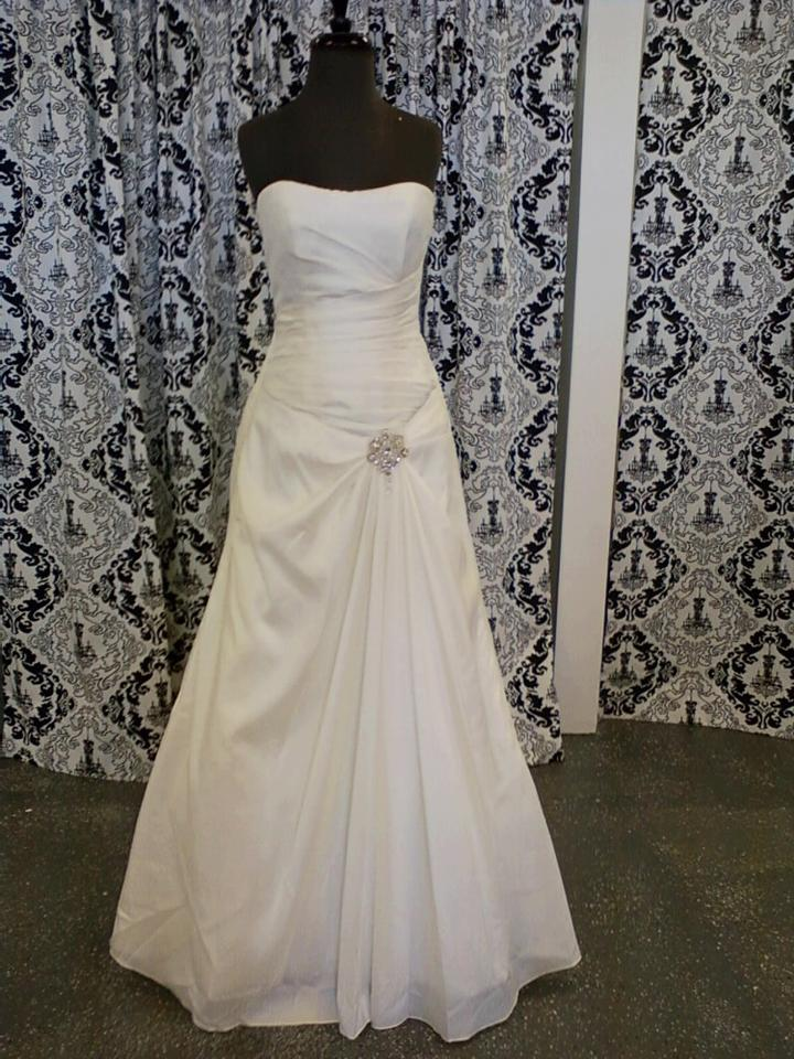 Jacquelin Exclusive Ivory 1991009 Traditional Wedding Dress Size 8 ...
