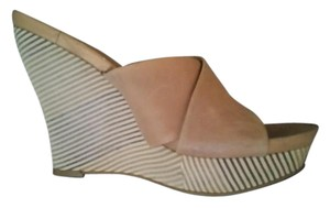 Jessica Simpson Wedge Nude Wedges