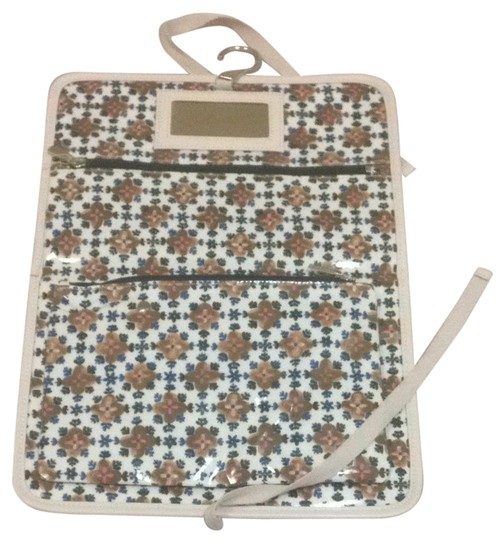 Tory Burch Tory Burch Foldable Cosmetic Case In Pound cake
