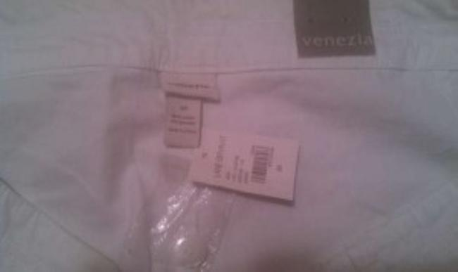 Venezia by Lane Bryant Cuffed Shorts White