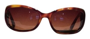 Oliver Peoples Oliver Peoples Phoebe Brown Tortoise Sunglasses With Case