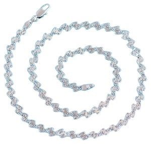 losangelesbeads Rhodium Plate Necklace