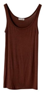 Michael Stars Scoop Neck Rayon Top Brown