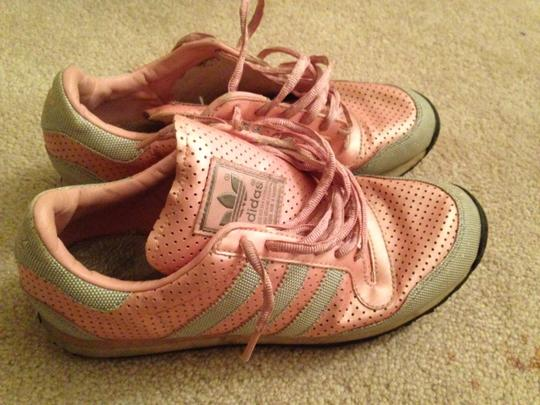 adidas pink Athletic