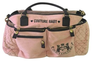 Juicy Couture pink Diaper Bag