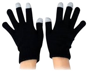 Black - 14 Colors Magic Touch Screen Gloves Smartphone Texting Stretch Winter Knit Warm