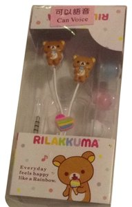 Other Cute Rilakkuma Bear Earphones