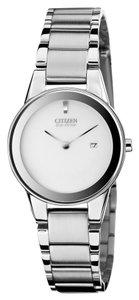 Citizen Citizen GA1050-51A Women's Axiom Eco-Drive Silver Analog Watch