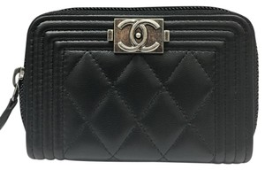 Chanel NWT Le Boy Coin & Card Case