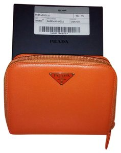 Prada Prada Saffiano Leather Bifold Wallet