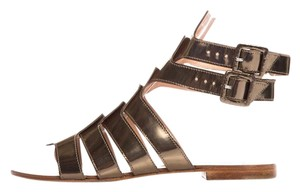 Robert Clergerie Metallic Bronze Sandals