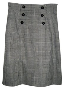 Banana Republic Skirt Houndstooth