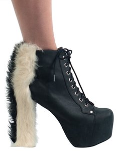 Jeffrey Campbell Lita Hawk Black Platforms