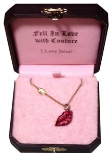Juicy Couture Luscious Juicy Lips Necklace
