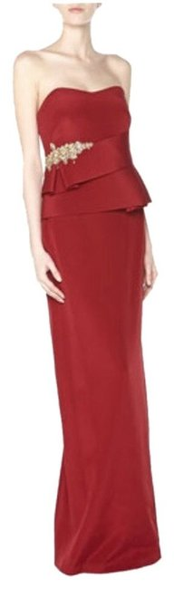 Marchesa Notte Silk Holiday Special Occasion Dress