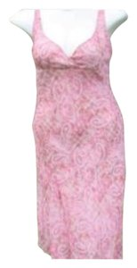A. Byer short dress Pink Romantic Floral on Tradesy