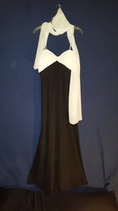 Cachet Black/White Dress