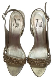 Pelle Moda High Heel Sandals gold Formal