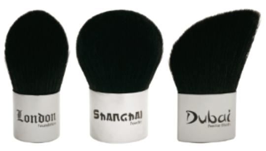 Anisa City Kabuki Collection Cosmetic Brushes