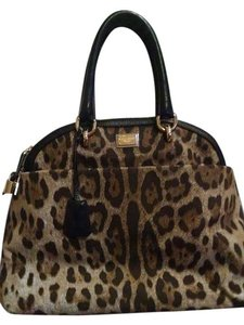 Dolce&Gabbana Tote in Black/ Animal Print