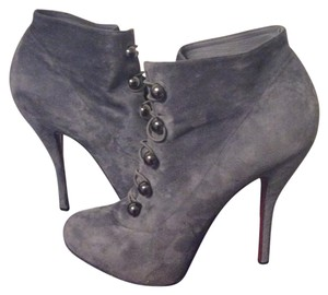 Christian Louboutin Charcoal Boots