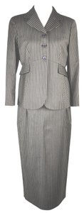 Gianfranco Ferre Gianfranco Ferre Vintage jacket high waisted skirt suit brown striped