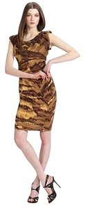 Diane von Furstenberg Tiger Silk Dress