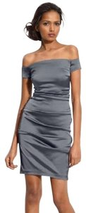 Betsy & Adam Pewter Grey Fancy Fun Dress