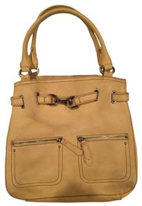 Cole Haan Leather Satchel in Yellow
