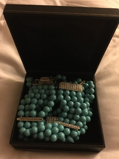 0 Degrees Suzanne Summers Elegant Seafoam Necklace Set