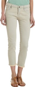 Citizens of Humanity Summer Green Pastel Cropped Avedon Skinny Jeans-Light Wash