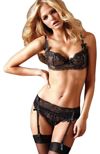 Victoria's Secret Glamour by Victoria's Secret Lace Garter Belt