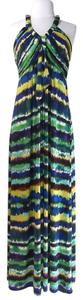 Print Maxi Dress by Calvin Klein Stretchy