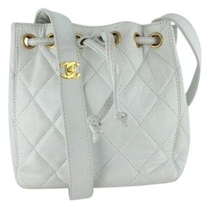 Chanel Leather Quilted Shoulder Bag