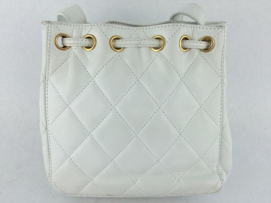 Chanel Leather Quilted Small Shoulder Bag