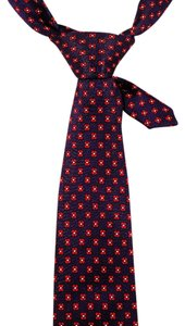 Polo Ralph Lauren Ralph Lauren Polo 100% Silk Tie Red and Blue: MSRP $100