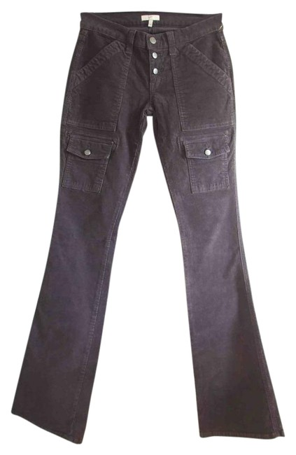 Item - Grey Light Wash So Real Long Corduroy Twill Pants Boot Cut Jeans Size 25 (2, XS)