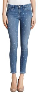 Guess Polka Dot Vintage Dot Brittney Skinny Jeans-Light Wash