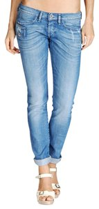 Diesel Xeroz Boyfriend Straight Leg Jeans-Medium Wash