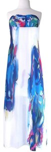 Print Maxi Dress by Maxi Strapless