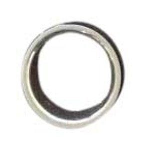 Gucci Ladies 8mm ring in sterling silver Size 16 USA 7.75
