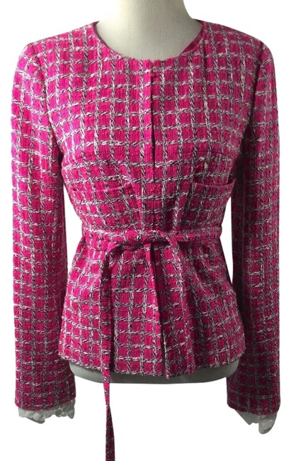 Preload https://item2.tradesy.com/images/chanel-pink-tweed-size-os-one-size-1543761-0-3.jpg?width=400&height=650