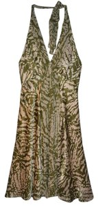 Donna Ricco Silk Party Casual Evening Dress