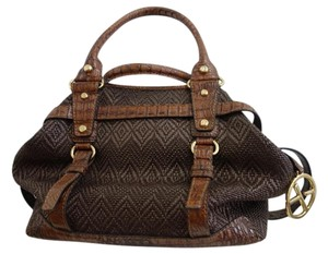 Francisco Biasa Satchel in Brown