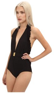 Chloé Chloe Dotted One Piece Swimsuit